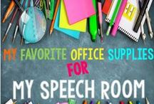 Speech Therapy: Back To School / All fun activities and resources to help speech therapists and educators during the back to school rush. / by Thedabblingspeechie