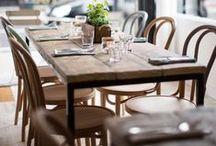 BABOEN by Vergés Basic / Chairs in Solid beech-wood frame. Plywood seat. Polyureteane varnuse finishes. Siilas con estructura de madera de haya. Asiento de madera. Acabados poliuretano