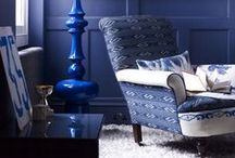 trend: Blue on Blue on Blue / All shades of blue from light to dark layered over each other.