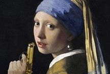Arty-Shock / Enrich your interior with these great eye-catchers of Dutch painters. But look twice, or maybe once, and see the twist.