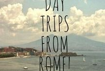 Day Trips from Rome / There are so many wonderful day trips from Rome we are spoiled for choice! Need a break from the city? Want to see something new and different? We have ancient ruins like Pompeii, gardens like Tivoli, beaches like Capri, wine-tasting in Tuscany and so much more!
