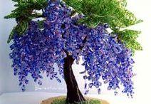 Beaded trees and flowers / Na pinoch rušíme tlačidlo Lajk. Žiadny strach, vaše staré lajky nikam nezmiznú.