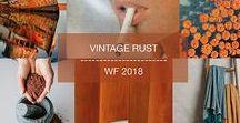 wf 2018 vintage rust / #colors #vintage #fashion #trend #winter #fall #inspiration #2018 #orange #rust #blue #grey