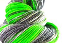 Hand Dyed Yarn / Hand dyed yarn full of win!