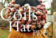 Art Yarn & Projects / Handspun art yarn, patterns, ideas for projects