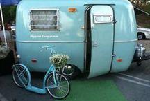 Vintage Camping~Trailers / by Lynn Gustafson