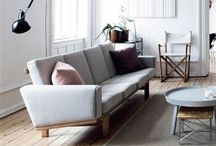 LIVING + ROOM / Inspiration for adding unique touches to your main living space. From industrial projects to sleek sofas and lighting. Everything you need for an awesome living room.