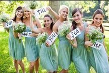 Color: Green Wedding / Inspiration board for those who loves green