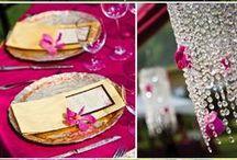 Color: Pink Wedding / Wedding planning pink wedding.