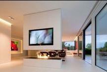 Fire Inspiration / Beautiful fireplaces for a spark of inspiration.