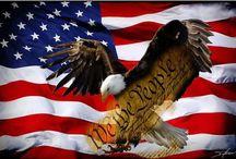 Patriotic, Politics, & Gov't / The #USA #patriotic #America / by Jessica Darnall