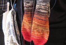 Knitting - Warm Feet / Knitting patterns & pics for socks & legwarmers