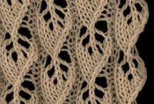 Knitting - Stitch Patterns / Knit Stitch Ideas