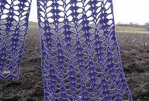 Crochet - Scarves & Shawls & Capes / Crochet patterns & pics for scarves, shawls, ponchos, Capelettes & shrugs