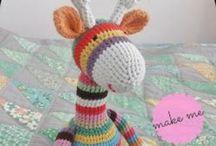 Crochet - Critters Amigurumi / Crochet Patterns of animals & Amigurumi