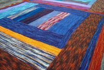 Knitting - Blankets / Patterns and pictures of knitted blankets