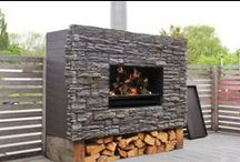 Outdoor Fireplaces / Why should heat and beauty just stay inside?  #fireplace #Outdoorliving #outdoor #escea