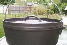 Cast Iron Cooking / Recipes for cast iron pots, pans and dutch ovens