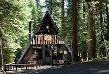 Cottages, Cabins & Bunkies: Small Spaces with Big Impact. / Ever wanted a place to escape? From a small cabin in the woods, to an expansive dream cottage. Inspiration for your dream retreat.