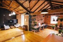 Cool & Creative Spaces / Inspiring spaces oozing creativity & funk.
