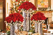 Color: Red Winter Wedding / Wedding planning and ideas for your winter wedding in red.
