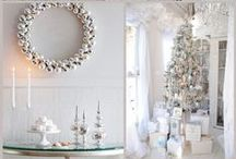 Theme: Winter wedding in silver / All decorations for winter weddings, flowers, cakes, invitations and a lot more.