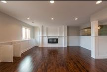 Basement Remodel / A completely custom designed basement will add character along with extra living space!