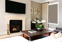 Retro-fitted Fireplaces / The AF700 gas fireplace is elegant in style, efficient in operation and easy to use. Its carefully considered dimensions make it the perfect replacement fireplace for an open fronted wood fireplace. The AF700 can also be installed straight into a timber framed wall without the need for expensive fire rated materials.  www.escea.com