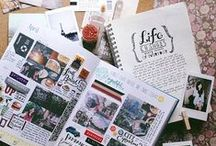 Bullet & Travelers Journal / Inspiration for my own journal Sketch book love Artis Journals & Travel Journals
