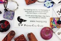 Works of NWPCG Members / Northwest Polymer Clay Guild members post their finished or ongoing works here. Be sure to follow it so you can see what fabulous projects we are working on!
