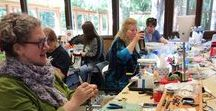 NWPCG Clay Camp 2017 / The Northwest Polymer Clay Guild (NWPCG) holds Clay Camp every year in May. We offer different crafting classes every year not only about polymer clay. Check our website for more information. The next Clay Camp is on May 17-21, 2018.
