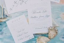 Invitations, Stationary & Menu's