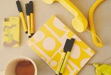 Yellow / by Two Stripes