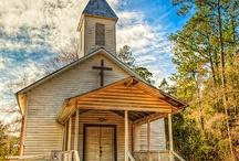churches / by Shelley Scribner