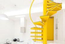 Jaune / #interiors #décoration #déco #home #decoracion #decoracao #maison #casa  #homedecor #design #art #architecture #packaging #pattern #motif #couleur #color #cor #amarelo #yellow #amarillo #jaune
