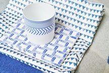 Bleu / #interiors #décoration #déco #home #decoration #maison #casa  #homedecor #design #art #architecture #packaging #pattern #motif #couleur #color #blue #azul #bleu
