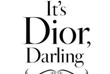 Christian Dior / by Ana Gavino