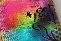 Canvas & Mixed Media Art