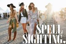 SPELL SIGHTING / We love seeing a Spell Sighting! Girls around the globe wearing Spell <3 / by Spell & the Gypsy Collective