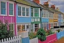 Pretty color houses
