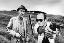 People with Boroughs / William Burroughs with an assortment of people / by Tamara Byrne