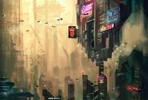 Cyberpunk Art / by Eric Bellefeuille