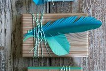 Gift Wrap It Up / Simple gift wrapping ideas and inspiration. / by Regenerous Designs, LLC