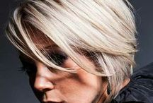 Hair & beauty / Short pixie style, blonde cropped hair styles for fine hair.