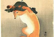 Ukiyo-e Animals / Japanese Woodblock Printing - Animals