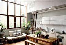 architecture & interior design / #architecture #spaces #interior #design #style #loft #workspace
