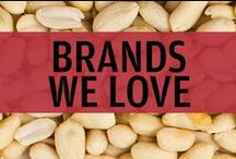 Brands We Love / We at UNREAL Candy want to live in a world where all products are GMO-free, dye-free, high fructose corn syrup free, and junk free! Vegan options and gluten free options are important...but so it taste! Here are some brands we respect and totally dig.