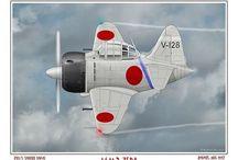 ZERO Japan / 零式艦上戦闘機  A6M  栄21  最大速度565  52型A6M5