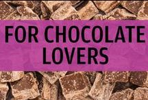 For Chocolate Lovers / We at UNREAL Candy love chocolate! We love milk chocolate. We love dark chocolate. We love it all, especially when it's GMO-free, with Fair Trade ingredients! This board is for all you other chocolate lovers out there!