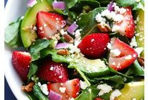 Super Salads / Whether your a vegetarian or a protein packed super salad lover this board will contain tons of salad recipes!  Includes salad dressings, salads for parties, kale recipes & kale salads.